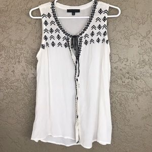 Sanctuary Embroidered Blouse